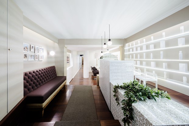 interior VANITAS espai peluquería diariodesign