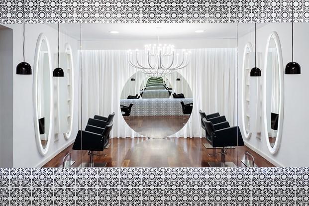 vanitas espai peluquería en barcelona del estudio de interiorismo Cm2 Dissseny diariodesign