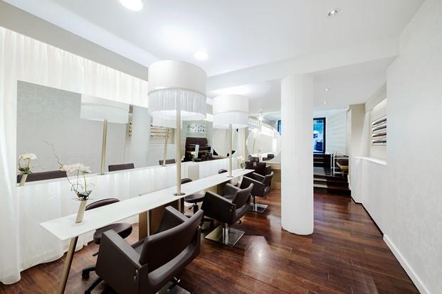 interiorismo de Cm2 Disseny en peluquería vanitas diariodesign