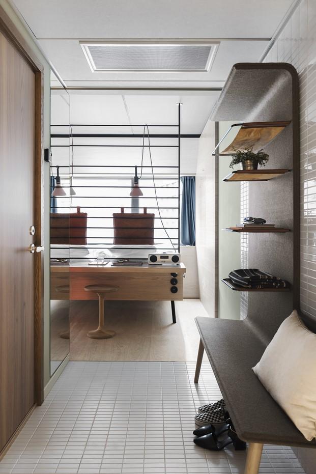habitacion del Hotel Hobo interiorismo de Werner Aisslinger en Estocolmo-diariodesign-3
