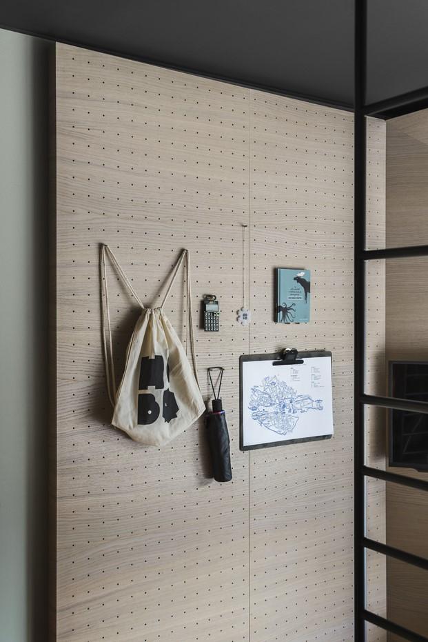 almacenamiento flexible en Hotel Hobo en Estocolmo diariodesign