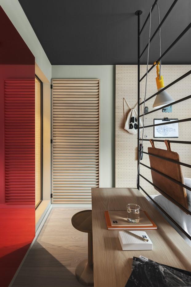 imagen detalle habitacion Hotel Hobo deWerner Aisslinger en Estocolmo diariodesign-5