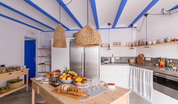 cocina Hotel Nereta Cadaques mediterraneo diariodesign