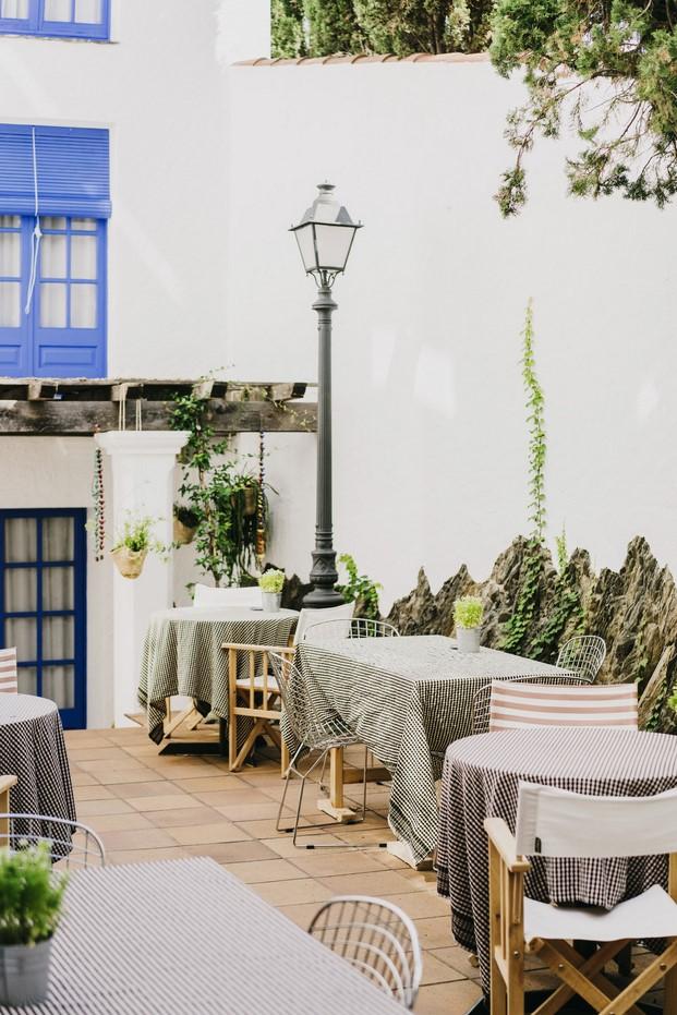 Hotel Nereta Cadaques mediterraneo diariodesign terraza