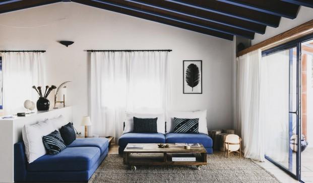 salon Hotel Nereta Cadaques mediterraneo diariodesign