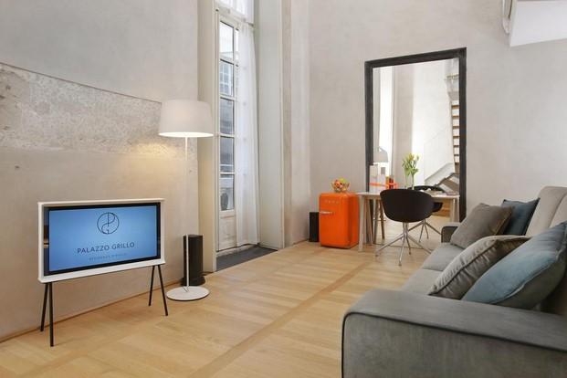 lampara icono en el Hotel Palazzo Grillo Genova diariodesign