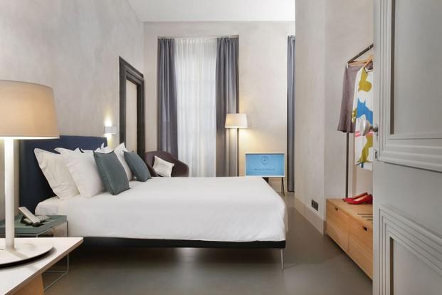 habitacion doble del Hotel Palazzo Grillo en Genova diariodesign