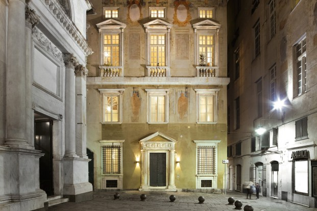 fachada Hotel Palazzo Grillo en Genova diariodesign