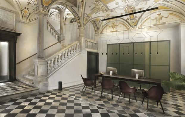 Hotel Palazzo Grillo interiorismo de Joseph Grima en Genova diariodesign