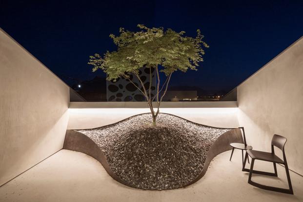 terraza del Loft de  Smartvoll loft diariodesign