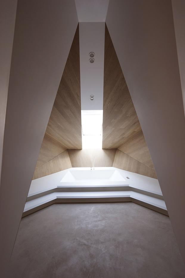 espectacular banera en el Loft de Smartvoll Salzburgo diariodesign