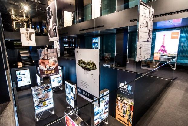 Roca Exposicion Una historia compartida La marca a traves de la comunicaicion