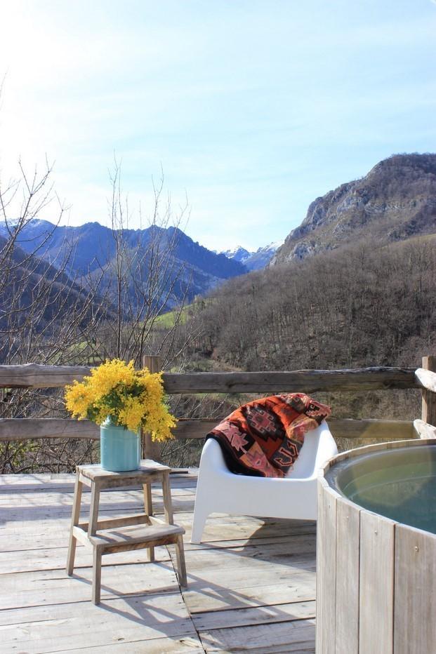 bañera en el ecohotel Tierra DelAguadiariodesign