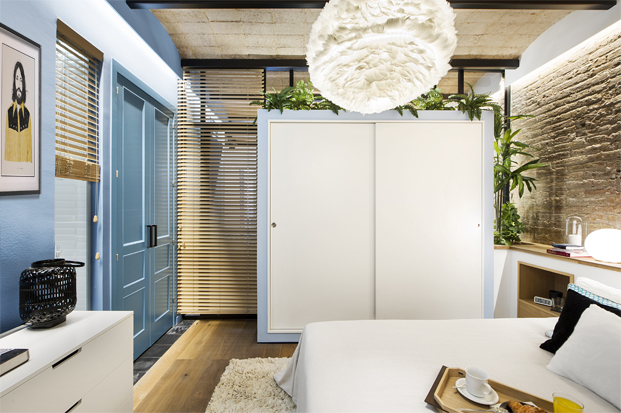 loft de una Casa de Playa Urbana diariodesign