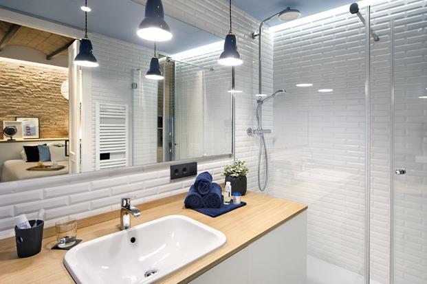 ducha de una Casa de Playa diariodesign
