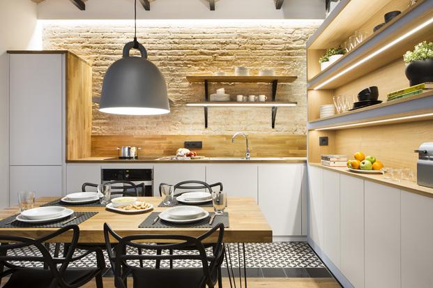 estudio Casa de Playa en la barceloneta de los arquitectos Egue y Seta en diariodesign
