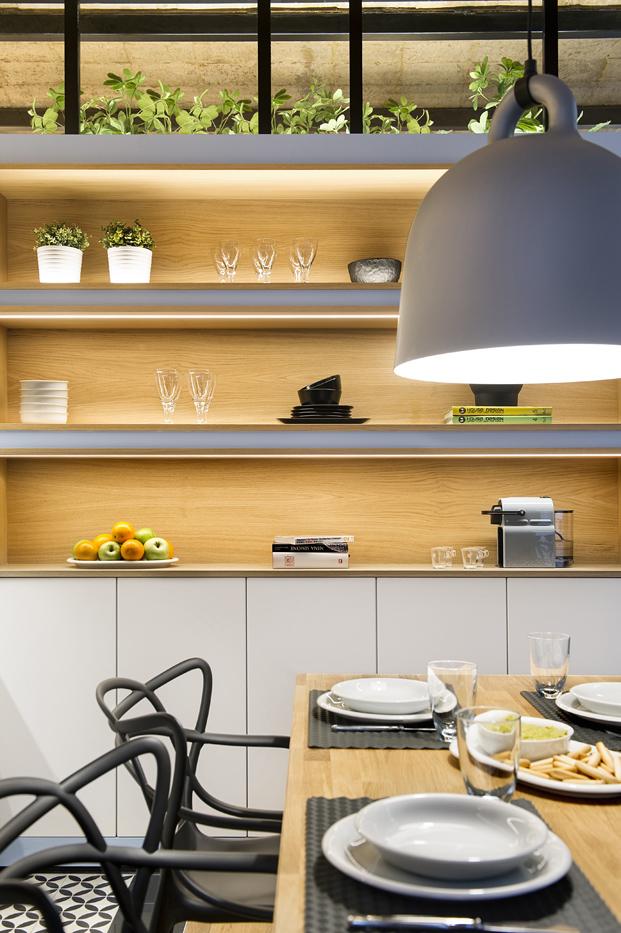 alacena cocina para Casa de Playa diariodesign