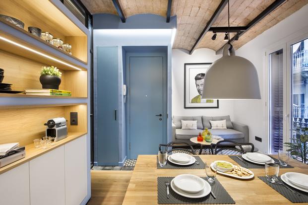pequeña Casa de Playa Urbana en la barceloneta el estudio Egue y Seta diariodesign
