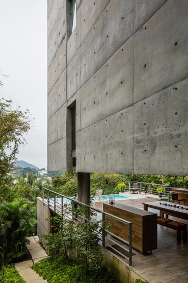 vista paisaje de la casa Ubatuba en Rio de Janeiro