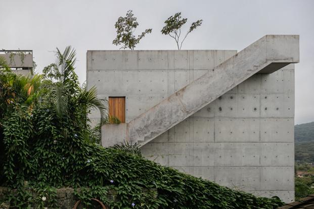 azotea casa moderna en Ubatuba SPBR Arquitectos Nelson Kon Brasil diariodesign