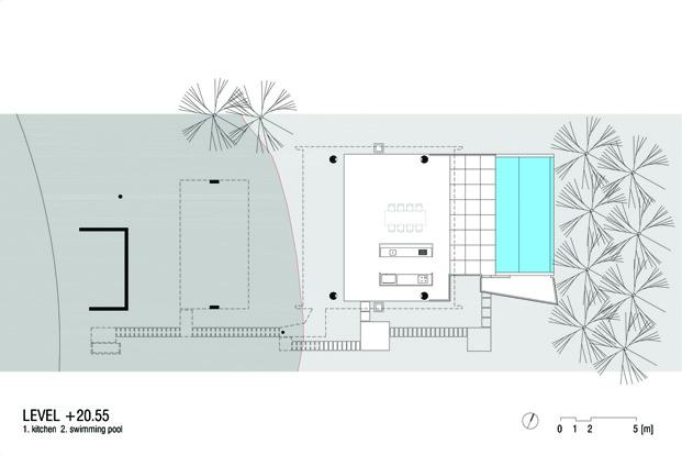 plano casa moderna en Ubatuba en Brasil diariodesign