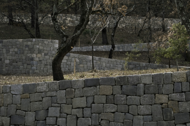 Ai Weiwei en los viñedos Chateau La Coste