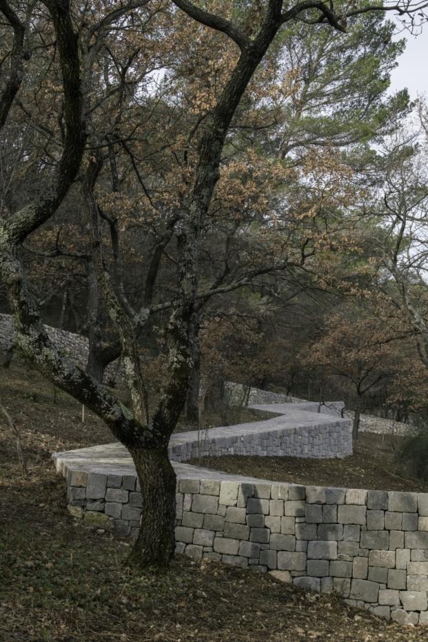 Ai Weiwei en Chateau La Coste