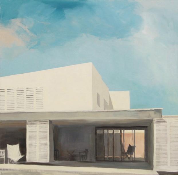 pintura de coderch de bea sarrias pintura sobre arquitectura diariodesign