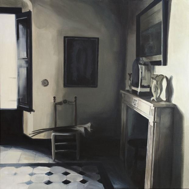 exposicion de pintura de bea sarrias sobre arquitectura diariodesign