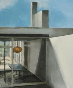 pintura de bea sarrias casa en diariodesign
