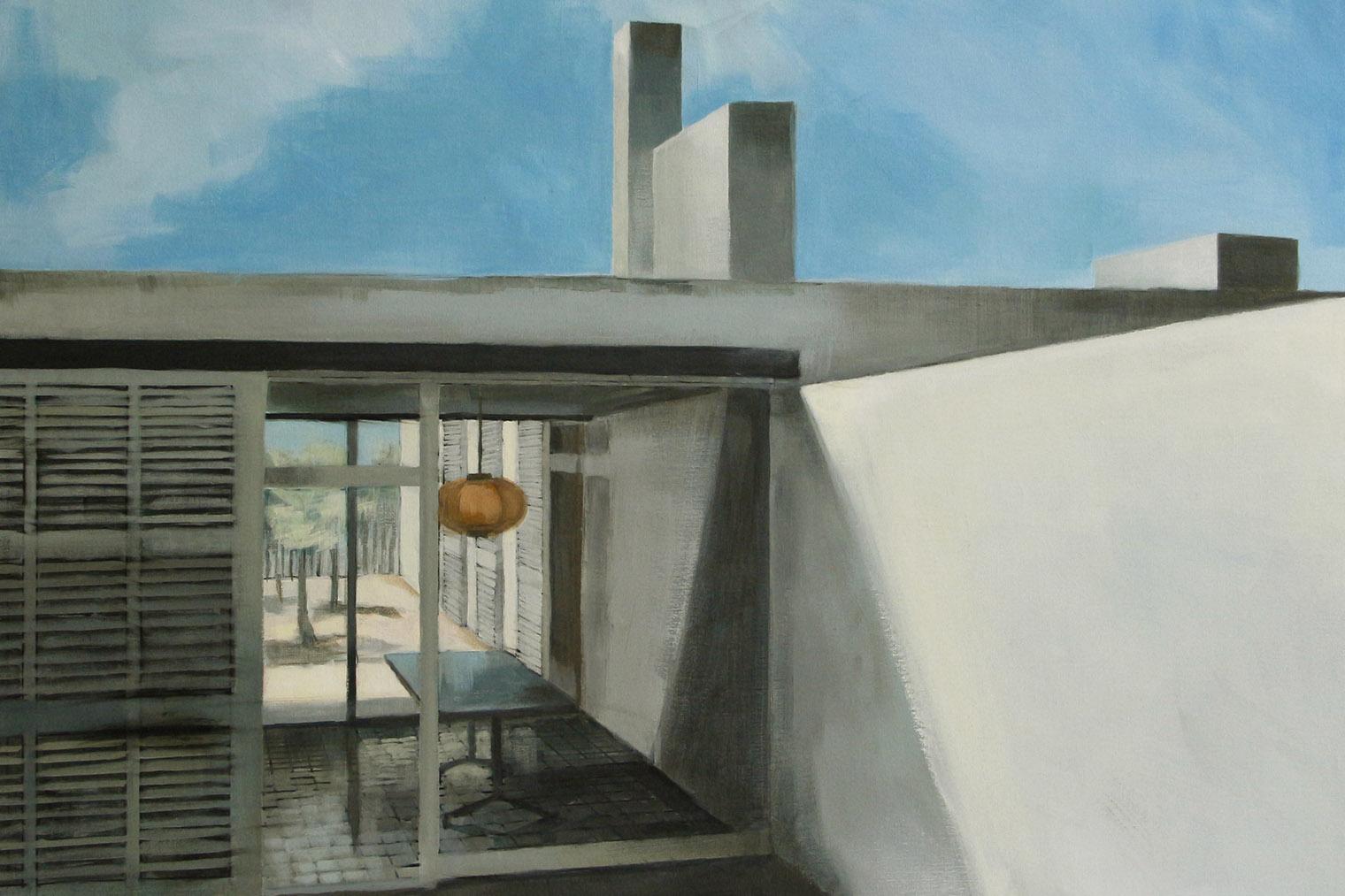 Galer as de arte madrid bea sarrias pinta arquitectura - Arquitectura de interiores madrid ...