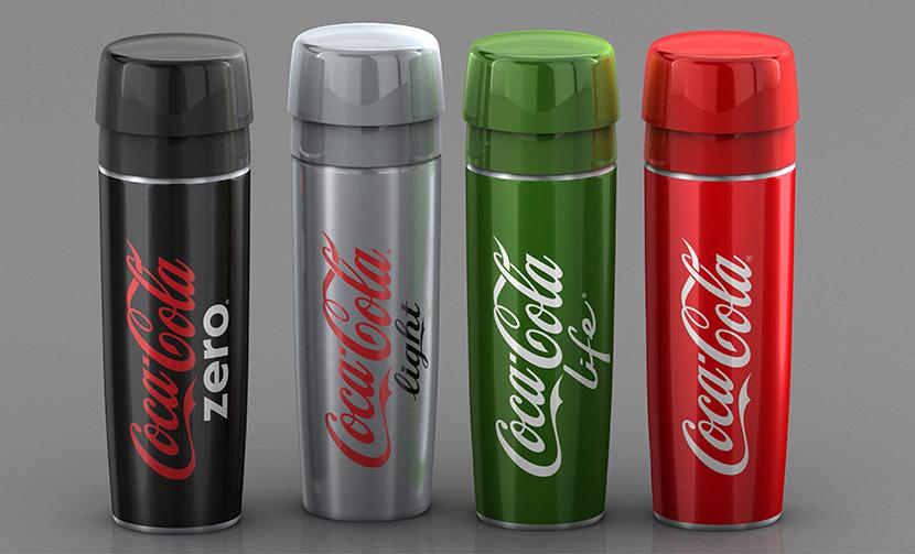 nuevo concurso de diseño de la botella de coca-cola para ciclistas
