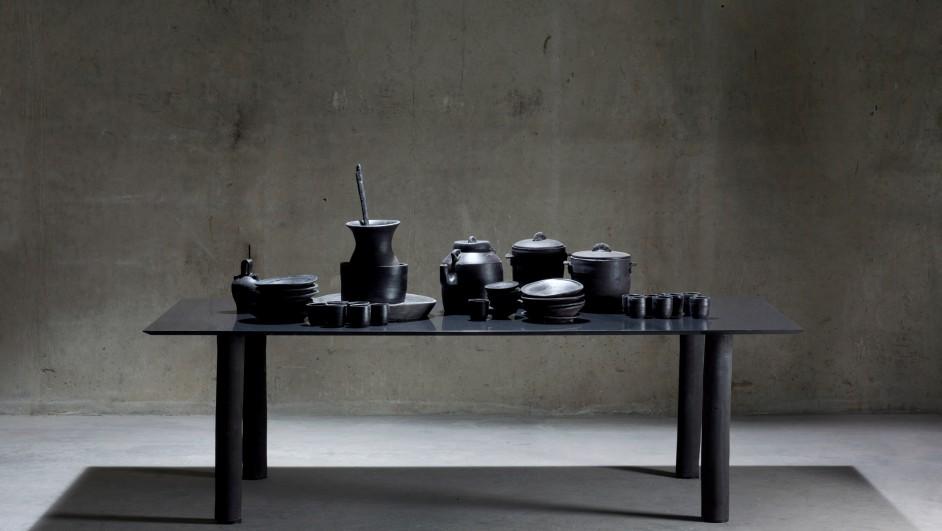 proyecto de cosentino para la Milan design week Dektonclay de xavi mañosa