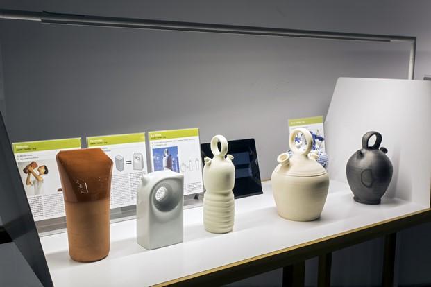expo Tapas museu del disseny barcelona botijo Gan