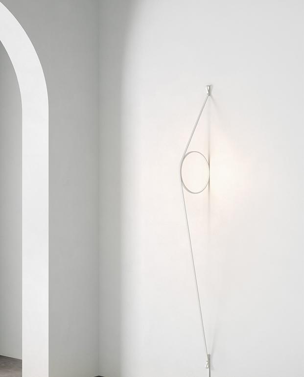 lampara Wire Ring de formafantasma para flos