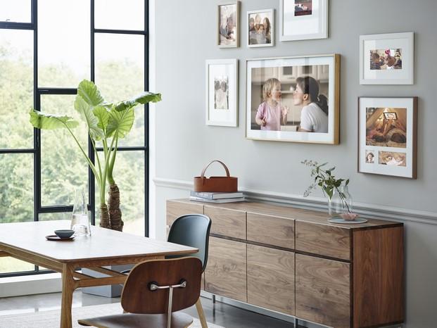 tv samsung frame de Yves Béhar en diariodesign