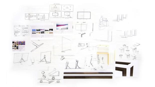 frame television sketch