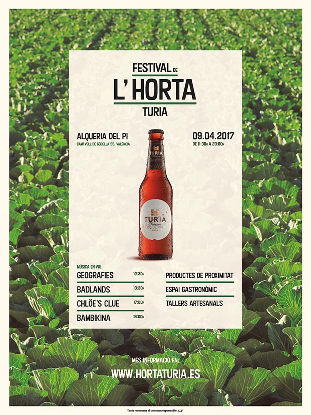 cartel festival cerveza turia