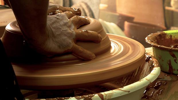 talleres de artesania en el festivl de horta turia domanises