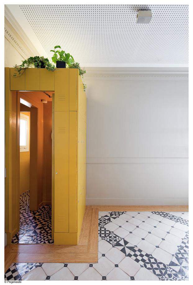 habitacion del hostal en barcelona Nikbor diariodesign
