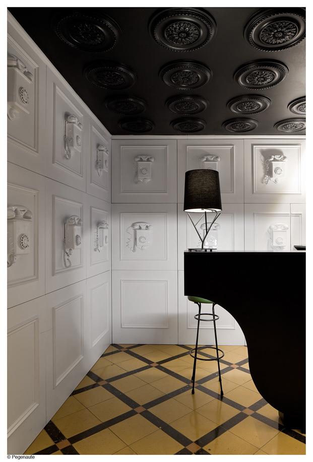 hostal en barcelona Nikborde estilo clasico y contemporaneo en diariodesign