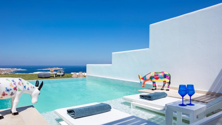 hotel Myconian Kyma lujo y tradicion en Grecia miconos Diariodesign