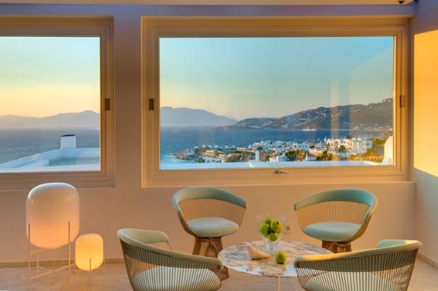 hotel Myconian Kyma l en Grecia miconos vistas diariodesign