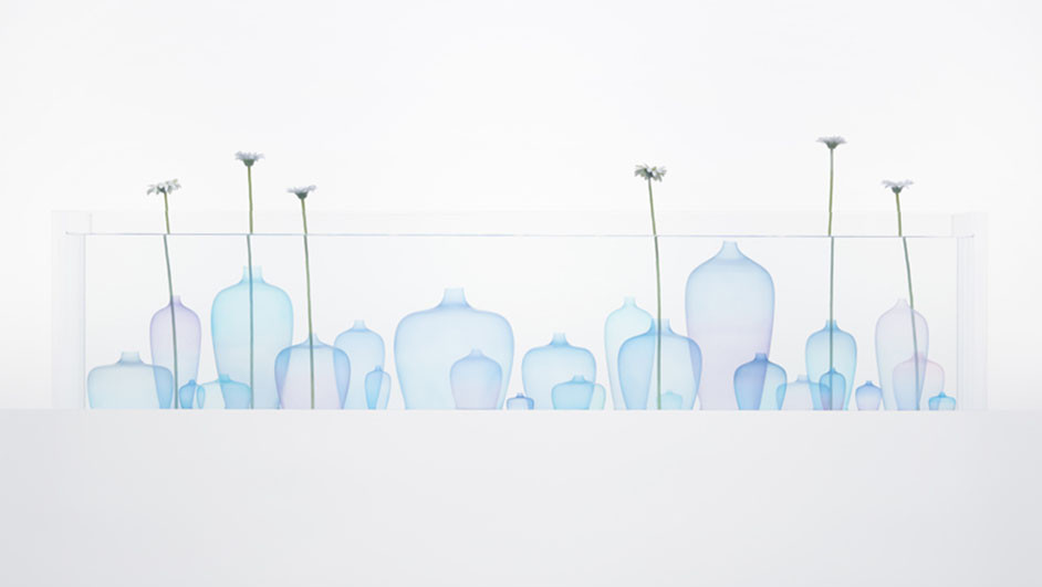 jellyfish jarrones nendo milano design week diariodesign