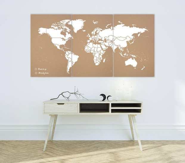 mapa corcho miss wood en blanco xxl
