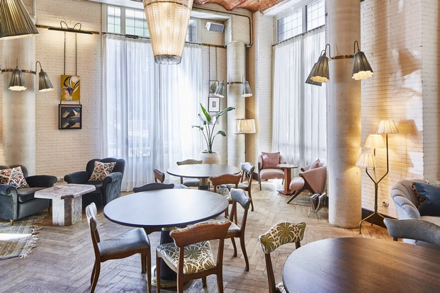 interior del soho house en barcelona diariodesign