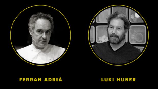 ferran adria y luki huber expo tapas dialegs de gastronomia diariodesign