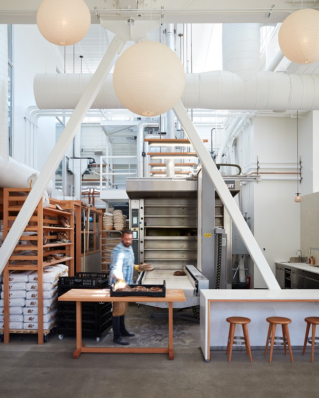 horno de pan de la panadería tartine manufactory diariodesign