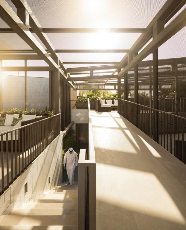 luz en una vivienda en kuwait porAGi architects diariodesign