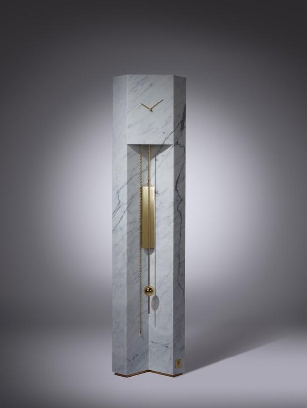 lee broom time machine de marmol de carrara durante milano design week 2017 diariodesign